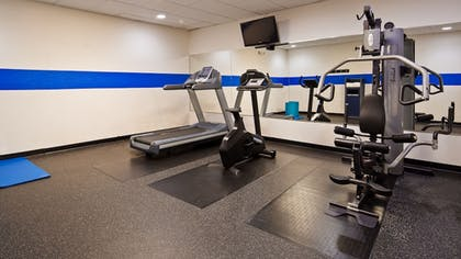 Fitness Facility | SureStay Plus Hotel by Best Western Oklahoma City North