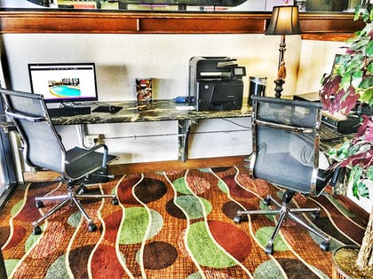 Business Center | SureStay Plus Hotel by Best Western Oklahoma City North