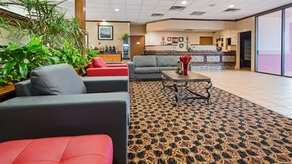 Reception | SureStay Plus Hotel by Best Western Oklahoma City North