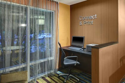 Business Center | Fairfield Inn & Suites by Marriott Atlanta Alpharetta