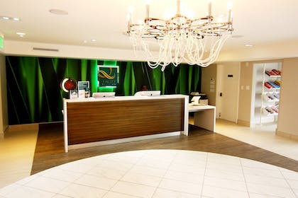 Reception | Quality Inn & Suites By the Parks