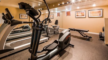 Fitness Facility | Best Western Plus King's Inn & Suites