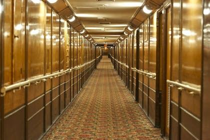 Hallway   The Queen Mary