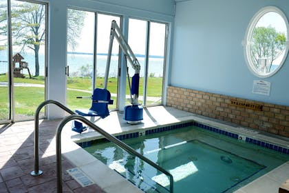 Indoor Spa Tub | Baymont by Wyndham St. Ignace Lakefront