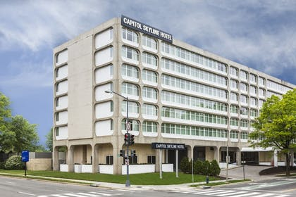 Hotel Front | Capitol Skyline