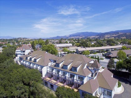 Aerial View | Vacations Inn Solvang