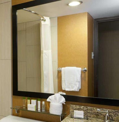 Bathroom | DoubleTree by Hilton Hotel Cleveland Downtown - Lakeside