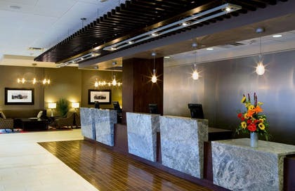 Reception | DoubleTree by Hilton Hotel Cleveland Downtown - Lakeside