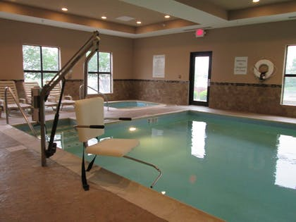 Indoor Pool | Holiday Inn Express Cloverdale - Greencastle