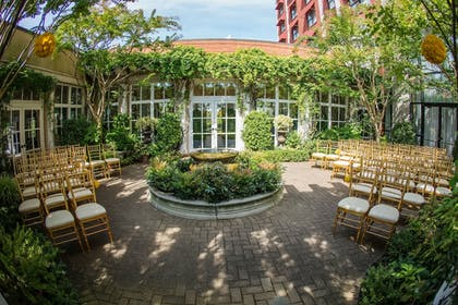 Outdoor Banquet Area | O.Henry Hotel