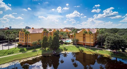 Aerial View | Quality Suites Lake Buena Vista