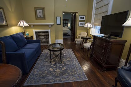 Living Area | The Marshall House,Historic Inns of Savannah Collection