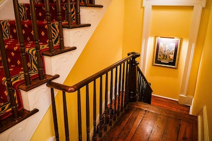 Staircase | The Marshall House,Historic Inns of Savannah Collection