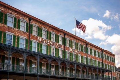 Hotel Front | The Marshall House,Historic Inns of Savannah Collection