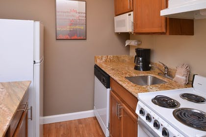 In-Room Kitchen | Towneplace Suites By Marriott St Charles