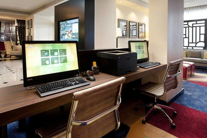 Business Center | Courtyard by Marriott Fort Worth Downtown/Blackstone