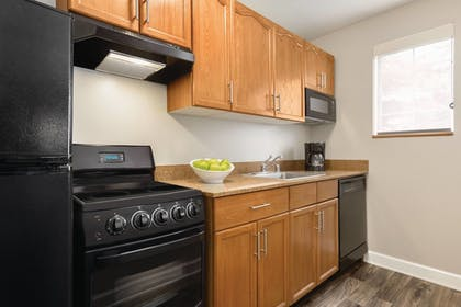 In-Room Kitchen | TownePlace Suites Denver West/Federal Center