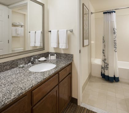Bathroom | Residence Inn by Marriott San Diego Downtown