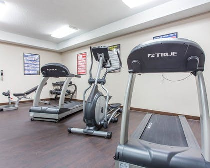 Fitness Facility | Quality Inn - Suites Patriots