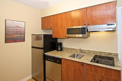In-Room Kitchen | Towneplace Suites By Marriott Seattle Southcenter