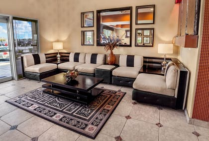 Lobby Sitting Area | Best Western Plus Rockwall Inn & Suites