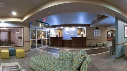 Lobby Sitting Area | Holiday Inn Express Hotel & Suites Natchitoches
