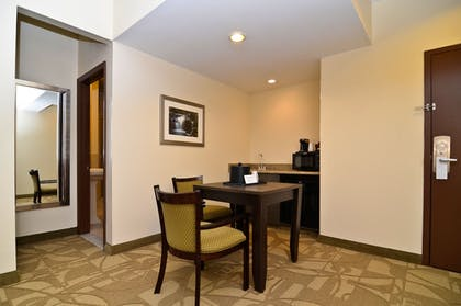 Living Area | Best Western Plus The Inn & Suites At The Falls