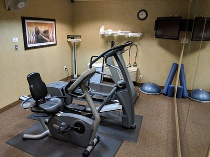 Fitness Facility | Clarion Inn & Suites