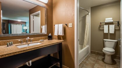 Bathroom | Best Western Huntsville Inn & Suites