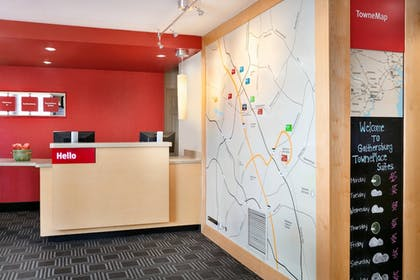 Lobby | TownePlace Suites Gaithersburg by Marriott