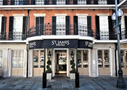 Hotel Entrance | St. James Hotel, an Ascend Hotel Collection Member