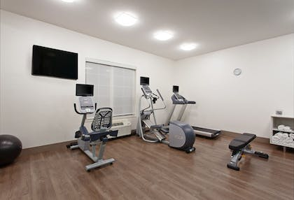 Fitness Facility | Holiday Inn Express Hotel & Suites Oakland-Airport