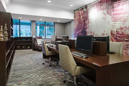 Business Center | Courtyard by Marriott Miami Downtown