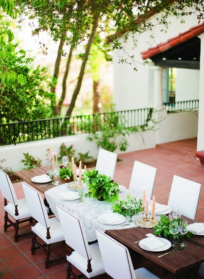 Outdoor Wedding Area | Belmond El Encanto