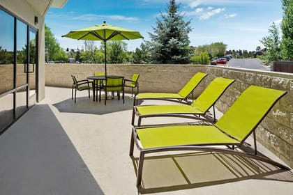 Terrace/Patio | Springhill Suites by Marriott Flagstaff