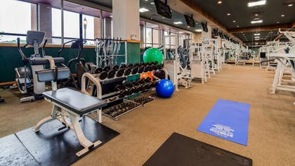 Fitness Facility | Best Western Plus Oswego Hotel and Conference Center
