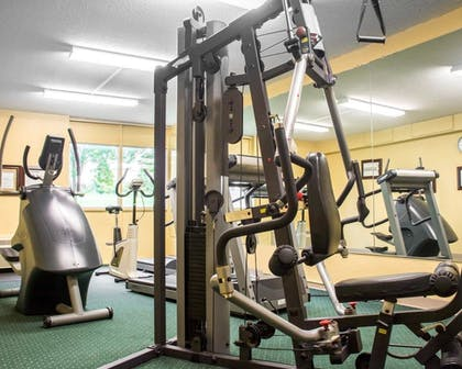 Fitness Facility | Quality Inn & Suites Fairgrounds