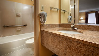 Bathroom | Best Western Bryson Inn