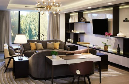 Living Area | London West Hollywood