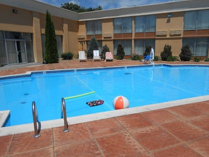 Outdoor Pool | Quality Inn & Suites