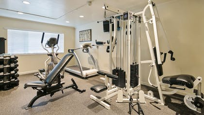 Gym | Best Western Plus Garden Court Inn