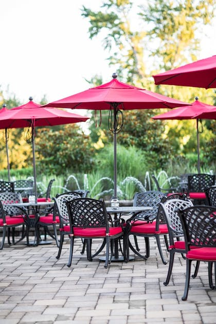 Terrace/Patio | Westminster Hotel