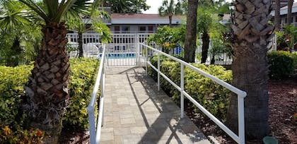 Outdoor Pool | Hotel South Tampa & Suites