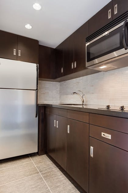 In-Room Kitchen | DoubleTree by Hilton Hotel Toronto Downtown