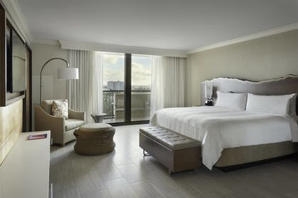Guestroom | Fort Lauderdale Marriott Harbor Beach Resort & Spa