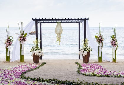 Outdoor Wedding Area   Pearl South Padre