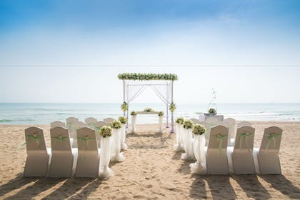 Outdoor Wedding Area | Pearl South Padre