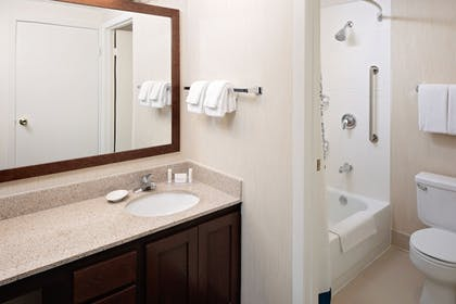 Bathroom | Residence Inn by Marriott Denver Downtown