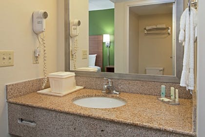Bathroom | Quality Suites Lake Wright - Norfolk Airport