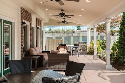 Terrace/Patio | Residence Inn by Marriott Charlotte University Research Park